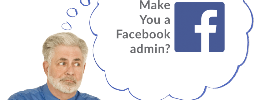 how to make a facebook admin