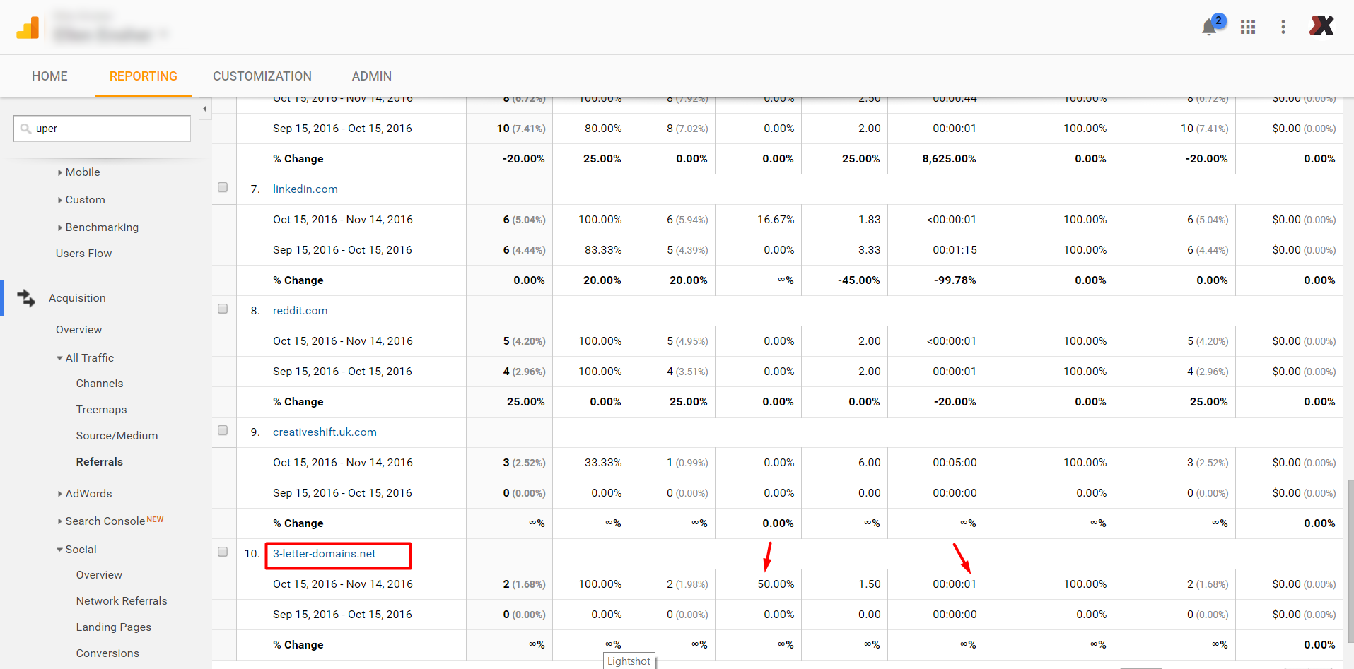 google analytics Filter Spam Referral Traffic acquition