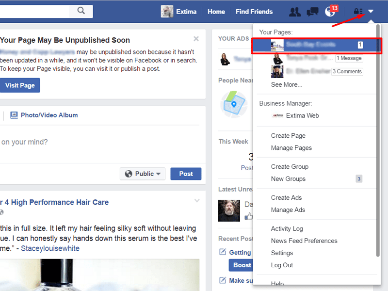 How to make someone your admin on facebook page